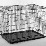 42-Pet-Folding-Dog-Cat-Crate-Cage-Kennel-wABS-Tray-LC-0